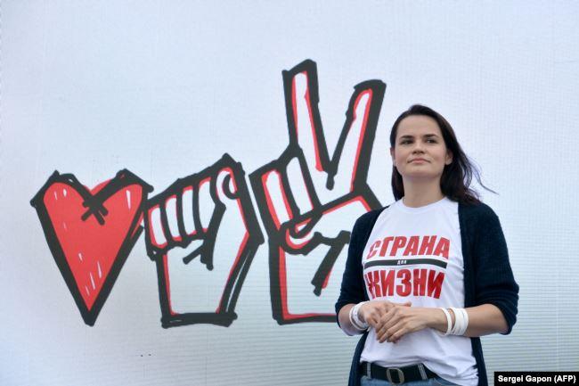 Кандидат в президенты Светлана Тихановская стала лидером протеста в Беларуси