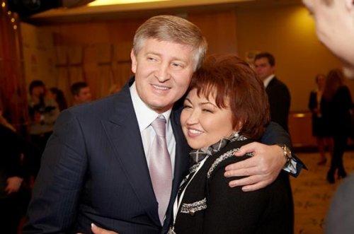 Татьяна Бахтеева и Ринат Ахметов